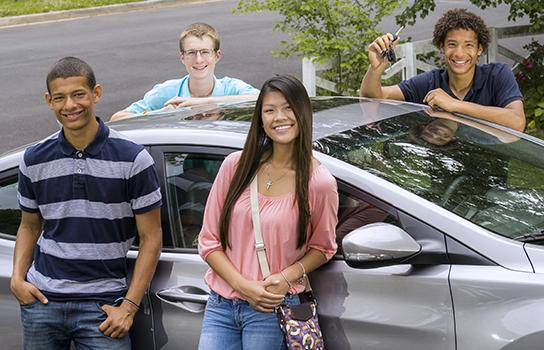 Teen Drivers Ed Students in St Louis Park MN